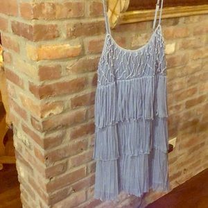 Chelsea and violet periwinkle blue dress NWT